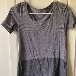 Lululemon Short Sleeve Striped top